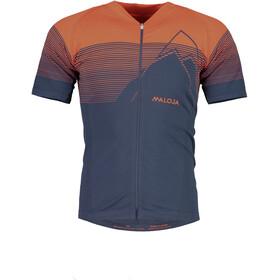 Maloja EliM. Bike Jersey Shortsleeve Men red/blue